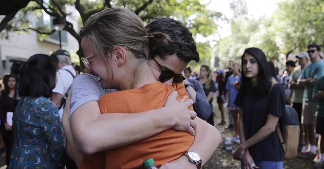 The Latest: Affidavit: Suspect followed slain Texas student