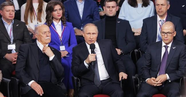 Putin says Panama Papers part of US plot to weaken Russia