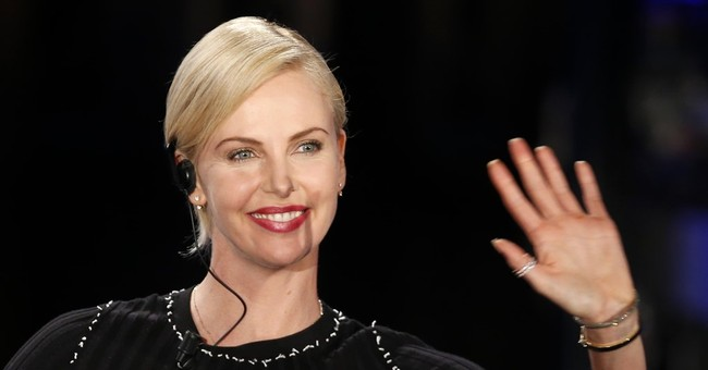 Charlize Theron gets back behind the wheel for 'Fast 8'