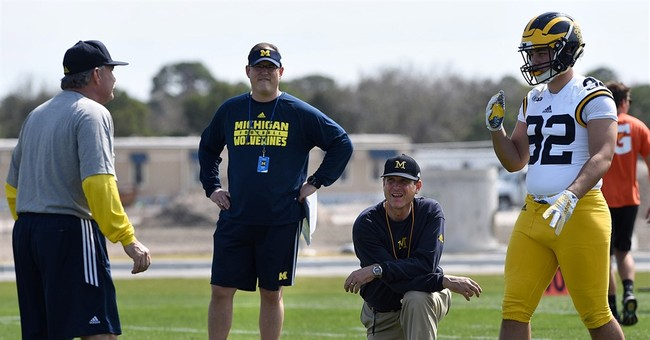 SEC beats Harbaugh as NCAA bans satellite football camps
