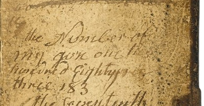 Washington's journal, Bunker Hill Bible up for auction