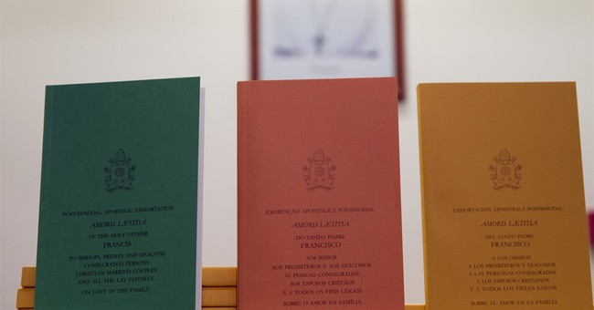 Catholics react to Pope Francis' document on family life
