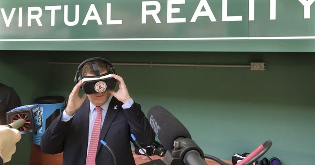 Red Sox to offer fans virtual reality experience at Fenway