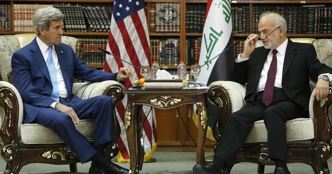 Kerry backs Iraqi leader, no planned increase in US troops