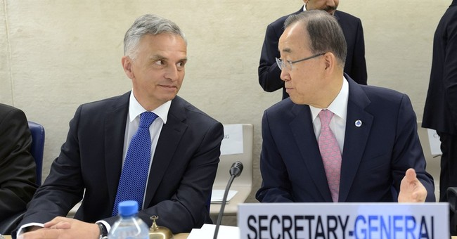 At conference, UN's Ban pushes against violent extremism