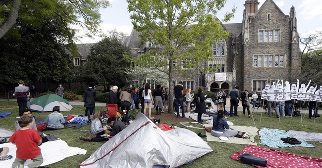 Students end sit-in protest outside Duke president's office