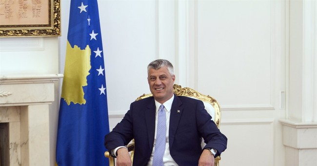 Kosovo opposition tries to disrupt president's inauguration