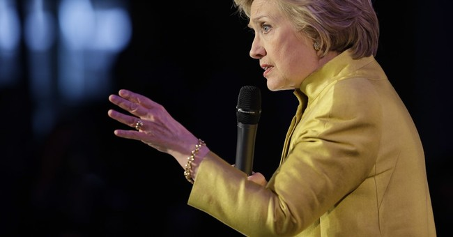 So, Clinton Had A Static Noise Machine To Mask What She Said At Fundraiser