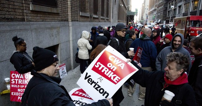 Despite 'Good Faith Efforts,' 40,000 Verizon Workers Go On Strike
