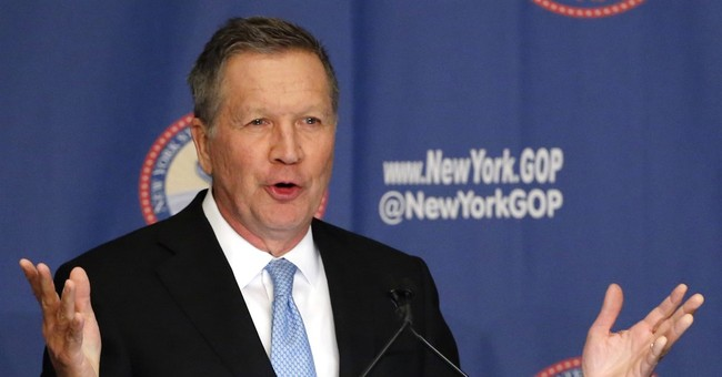 Kasich: 'Absolutely' I Can Walk Into the Convention and Not Endorse Trump