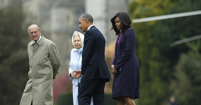 Queen: Obama's 'Over The Top' Copters Wrecked My Garden