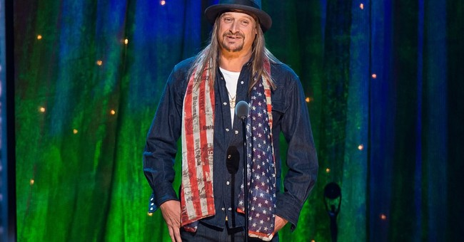 Oh dear: Kid Rock is running for Senate