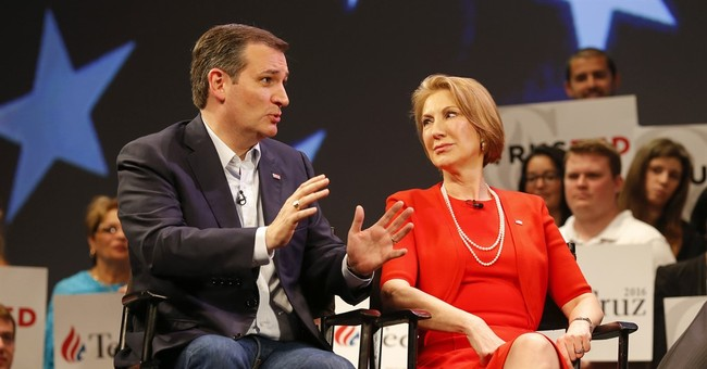 Cruz and Fiorina: The Face of the New GOP; the Hope for a New Birth of Freedom