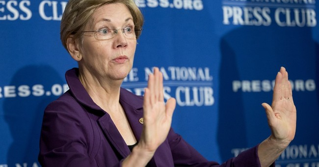 Elizabeth Warren Lets Trump Know He Ain't Seen Nasty Yet