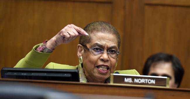 Classic: Rep. Eleanor Holmes Norton Suddenly Wants Law Enforcement to Protect Her From 'Peaceful Protestors'