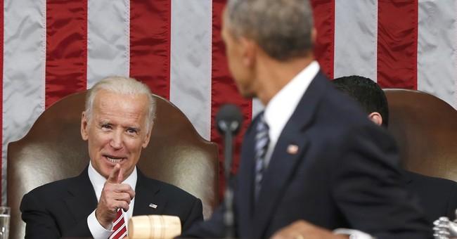 """Biden Tells New Hampshire Crowd: """"Guys, I'm not running"""""""