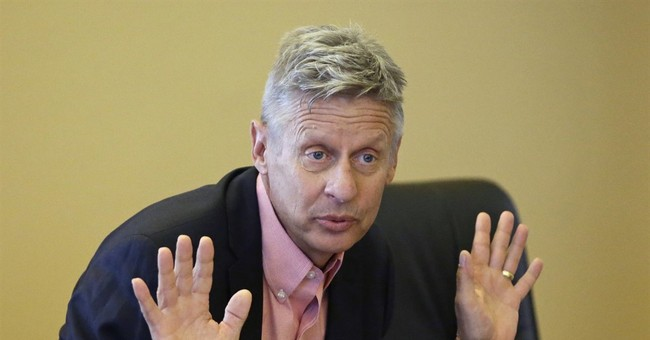 'Honorable Alternative' Gary Johnson Sides With Bernie Sanders 73 Percent Of The Time
