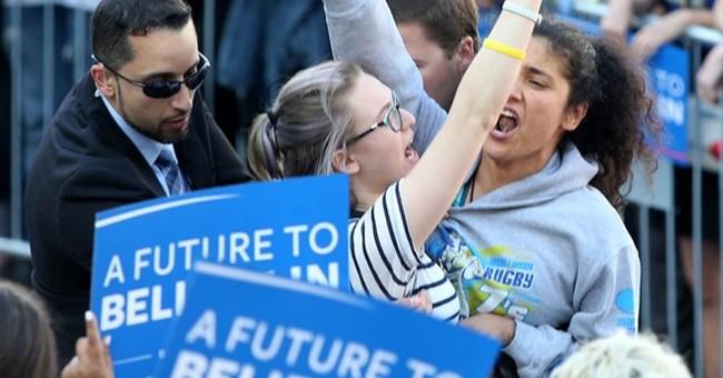 Radical Animal Rights Group Disrupts Bernie Sanders Rally