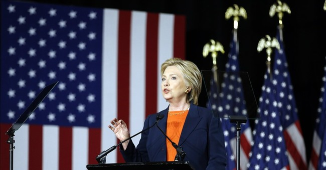 Hillary Rejects 'America First'
