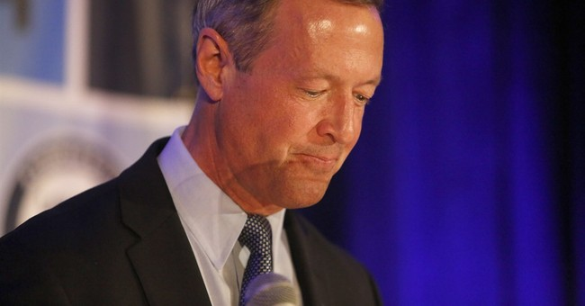 Martin O'Malley Suspends Campaign