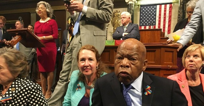 John Lewis Not Concerned About Punishment for Dems' Gun Control Sit-in