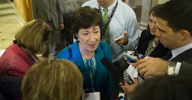 Susan Collins: I'm Not Supporting Trump