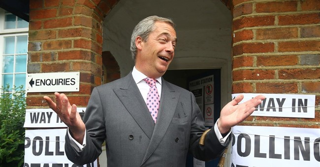 Nigel Farage Latest British Politician Attacked With Milkshake