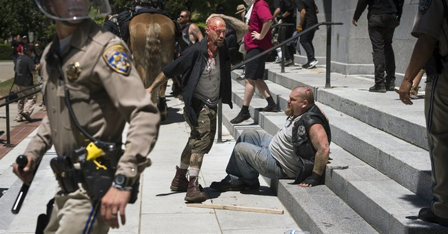 Violence Erupts at California's Capitol