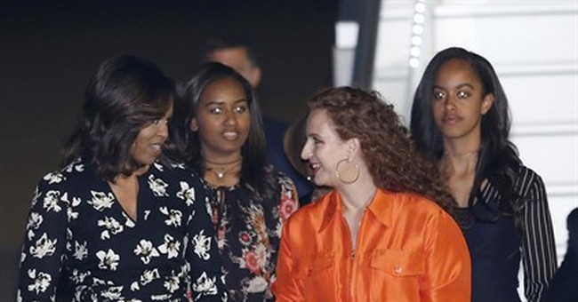 Tone Deaf: Michelle Obama Wears $1,750 Dress In One Of The Poorest Countries In World