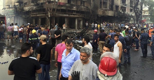 ISIS Bombs Shopping Center in Baghdad During Ramadan