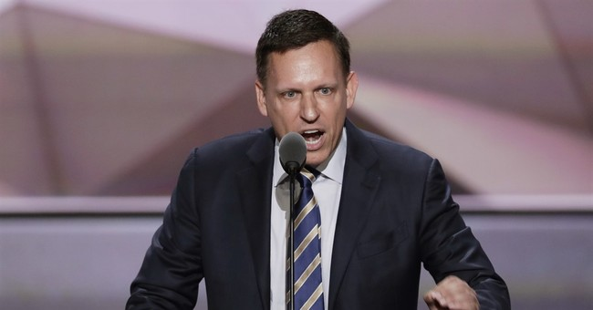 Thiel's Republicans Depart from Reagan