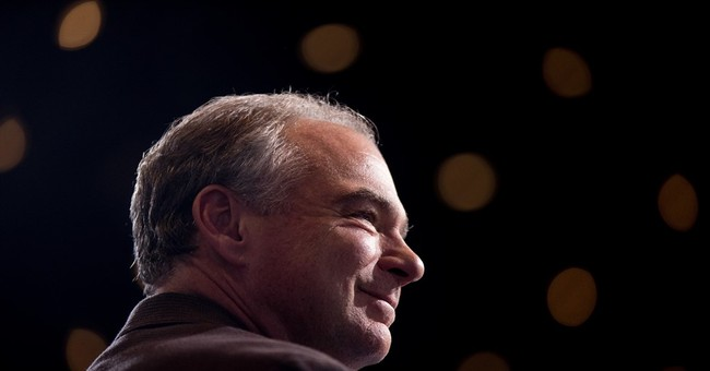 On Guns, Tim Kaine Appears to Blow With The Political Wind