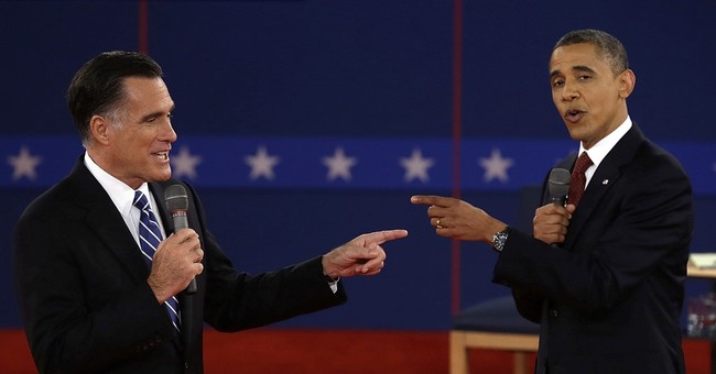 Obama: I 'Never Thought' Romney and McCain Couldn't Do the Job...This Is Different