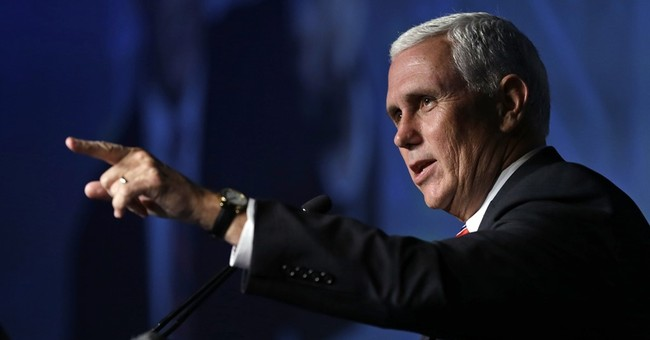 Going Rogue: Mike Pence Strongly Endorses Paul Ryan