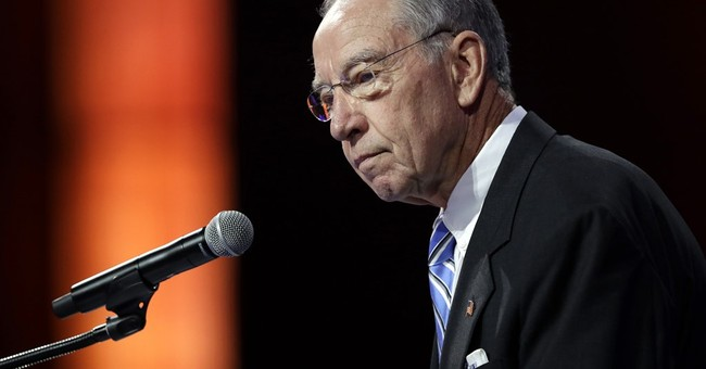 Senator Grassley Praises Colleague Sessions as Trump's Pick For Attorney General