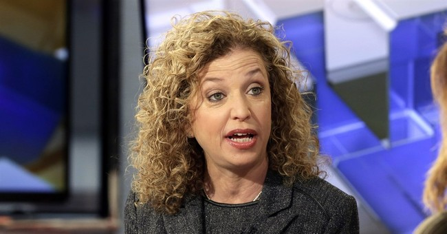 Wasserman Schultz Proves She's Still Afraid of Debates