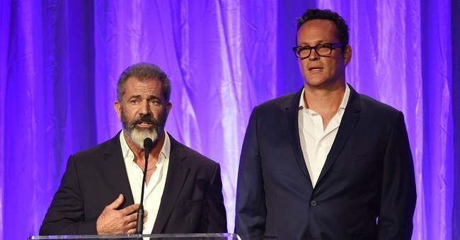 Mel Gibson and Vince Vaughn Were Not Pleased With Meryl Streep's Speech Last Night