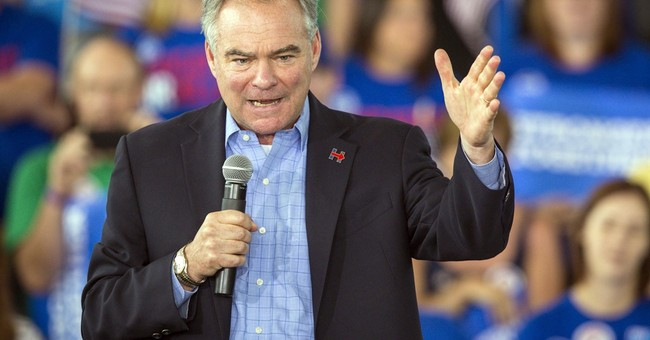 What?! Tim Kaine Says Clinton Foundation No Longer Taking Corporate/Foreign Money