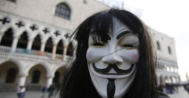 "Anonymous Declares ""War"" on Donald Trump"