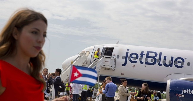To Celebrate Cuba Flights JetBlue Appears on Cake with Che Guevara