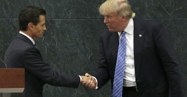 Trump in Mexico Recalls Reagan in Geneva