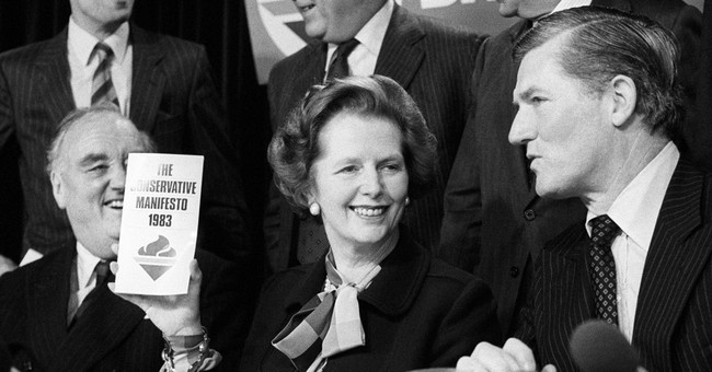 Margaret Thatcher's Message To Washington's Big Spenders
