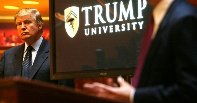 "Donald Trump Insists Trump University Had An ""A"" Rating From BBB"