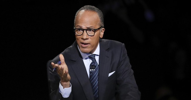 Why Lester Holt Is Being Called the 'Third Debater'