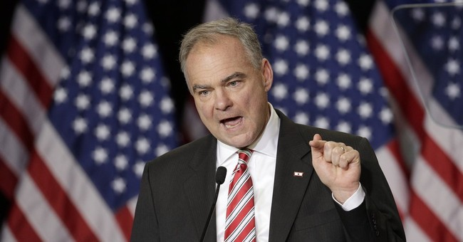 Taxin' Tim Kaine Pushed to Raise Taxes on the Poor