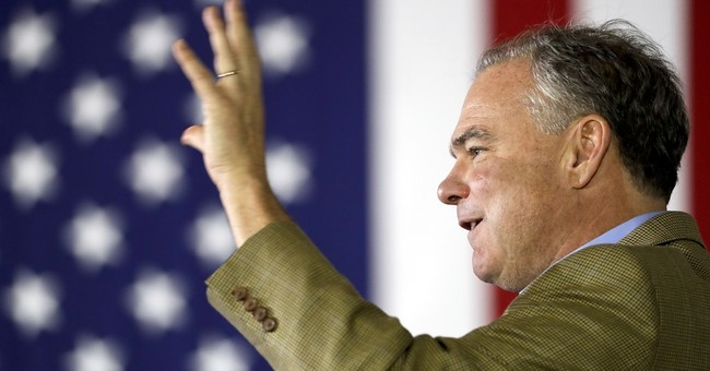 Kaine Reveals Emptiness of Democratic Policies