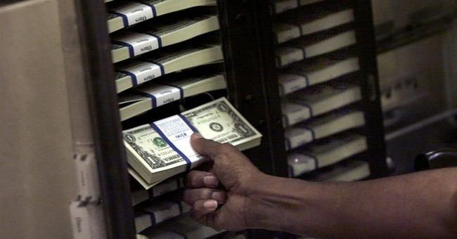 Markets Finally Turn Up, While Dollar Dips