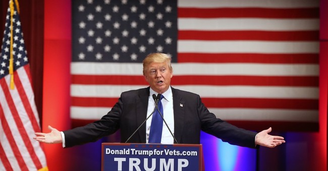 Donald Trump Receives 'Honor Ring' From Veterans' Charity; Immediately Removes It