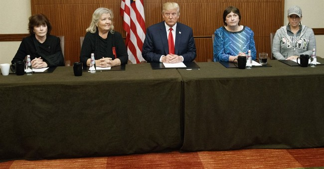 Trump Wanted To Place Clinton Accusers In Family Box At Debate, Security Threatened To Remove Them