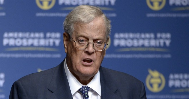 Trump Breaks Bread With David Koch